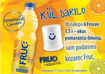 Fruc ad using Slovenian slang