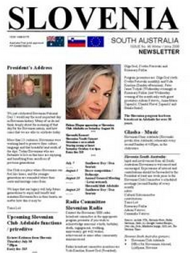 A bilingual Slovenian newspaper in Australia