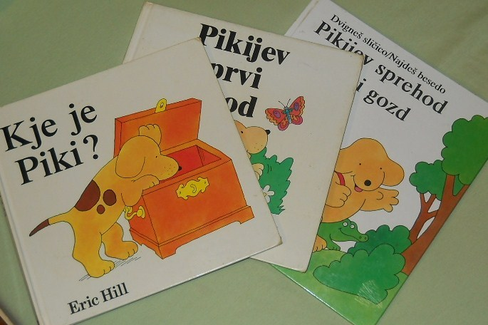 Childrens books to help learn Slovenian