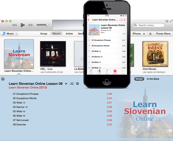 Learn Slovenian Online iPhone and iTunes screenshot